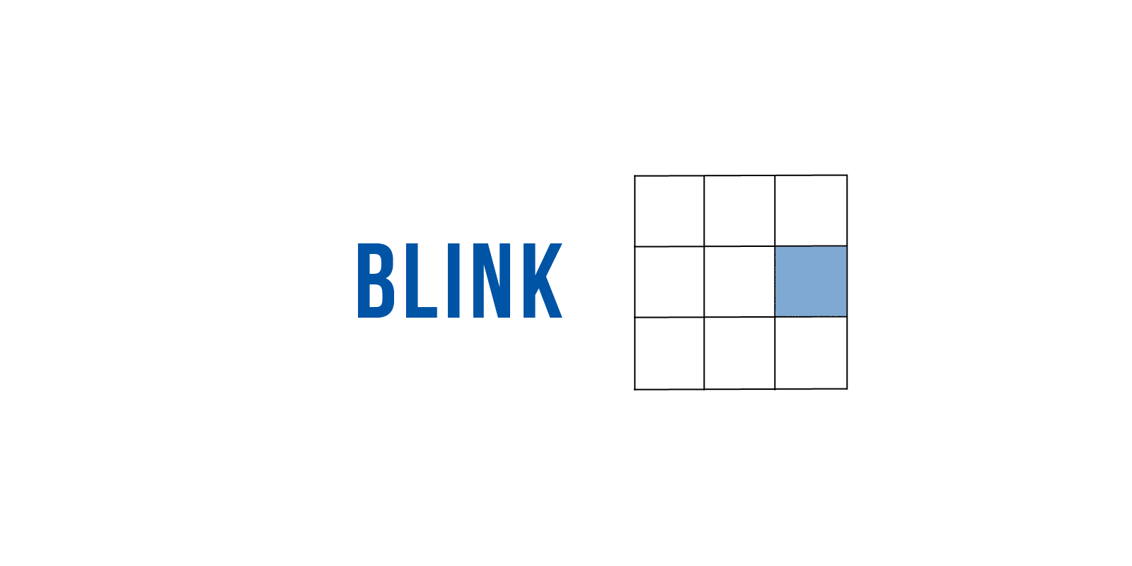 the Blink game.