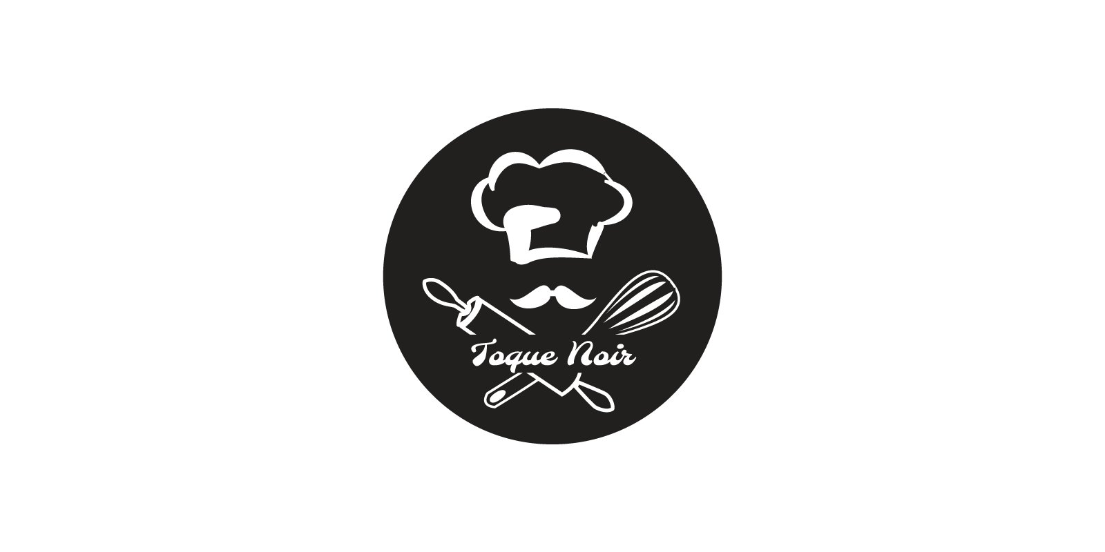 Logo design for the Toque Noir.